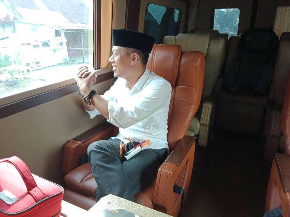Arif Saleh Sampaikan Terima Kasih Atas Jasa dan Pengabdian Andi Burhanuddin Unru