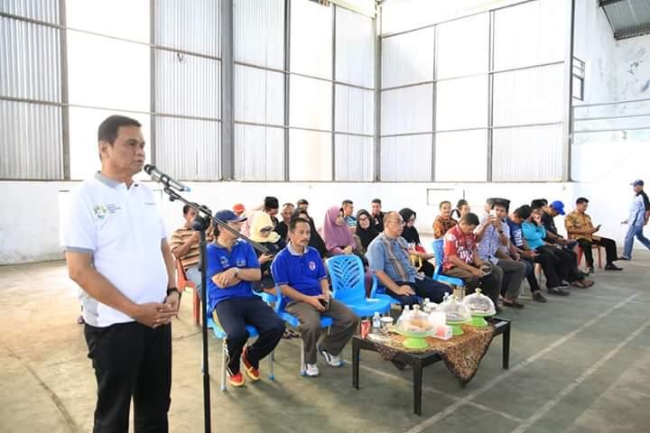 Bupati Barru Suardi Saleh, Buka Persatuan Sepak Takraw Indonesia Mengelar Pertandingan