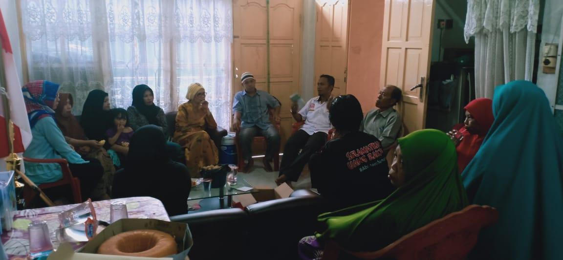 Caleg PKS, Ihwan ST Tuai Dukungan Puluhan Warga Batua