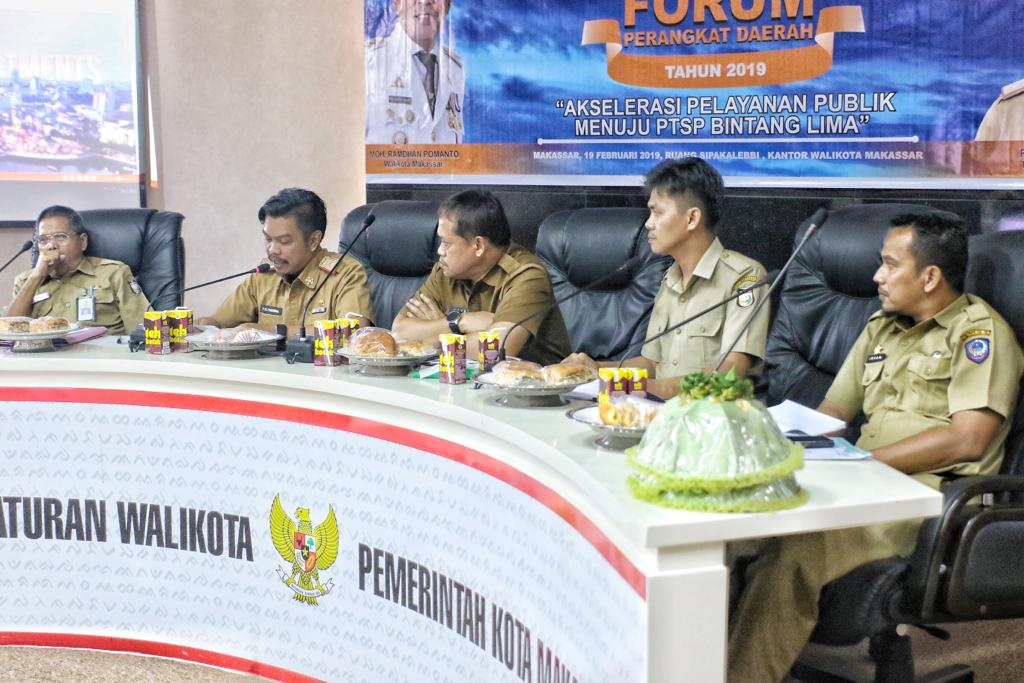 DPM PTSP Gelar Forum SKPD Wujudkan PTSP Bintang Lima