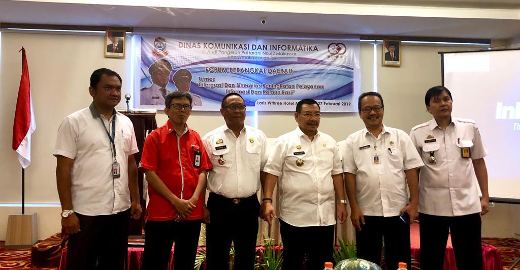 Forkada 2019, Diskominfo Makassar Percepat Integrasi Teknologi Layanan Publik