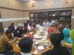 Forum LSM Kabupaten Barru Audiensi Dengan Bupati Barru Suardi Saleh