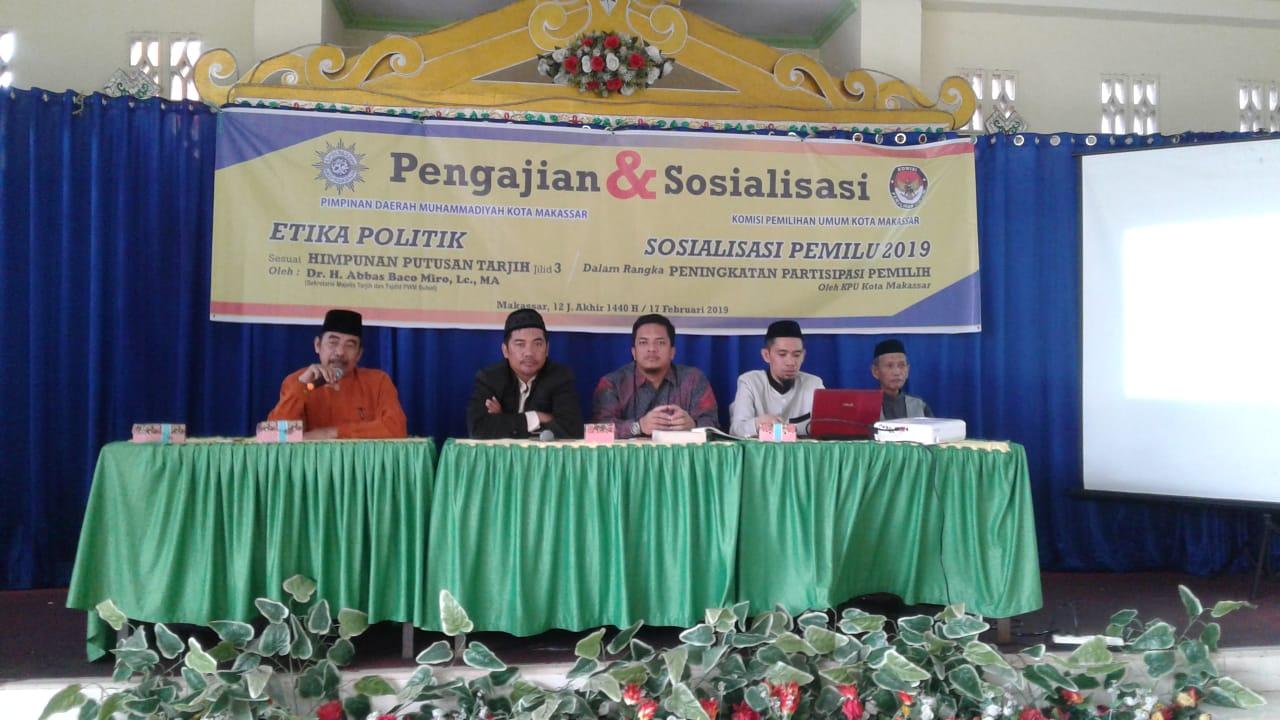 Gandeng KPU, PDM Makassar Buat Pengajian Etika Politik