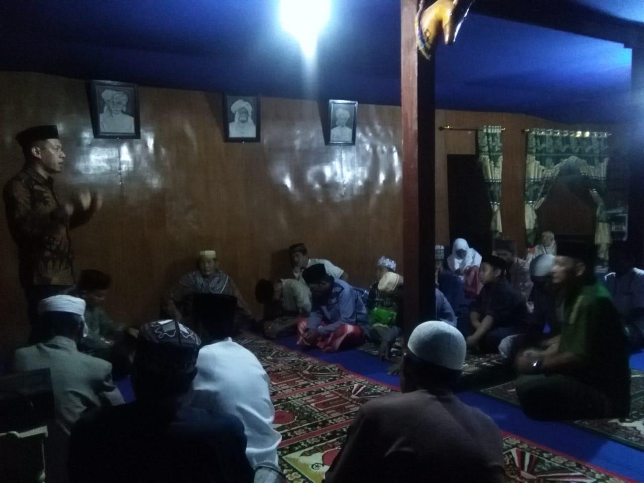 Jamaah Khalwatiyah Samman Dukung Arif Saleh MA'7 Ridecengnge