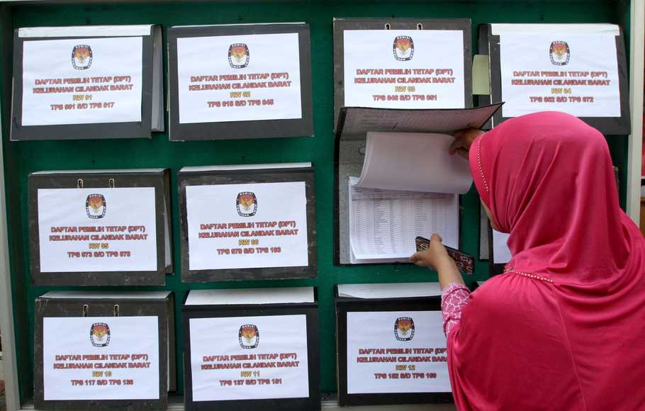KPU Akan Umumkan Caleg yang Tidak Memenuhi Syarat di TPS