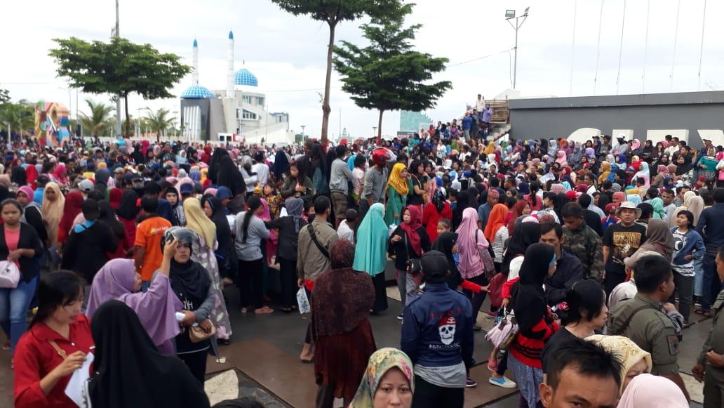 Permudah Layanan, Pendataan JKN-KIS Dilakukan Dinsos Makassar di Lokasi CFD