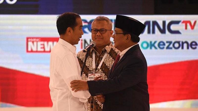 Prabowo Terkesan Pesimistis, Jokowi Pede soal Infrastruktur