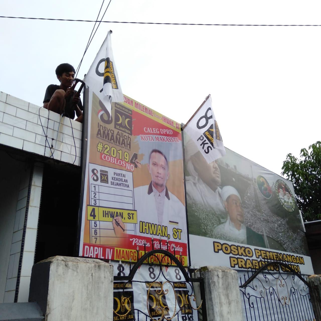 Puluhan Laskar Milenial Gencar Sosialisasikan Caleg PKS Ihwan ST