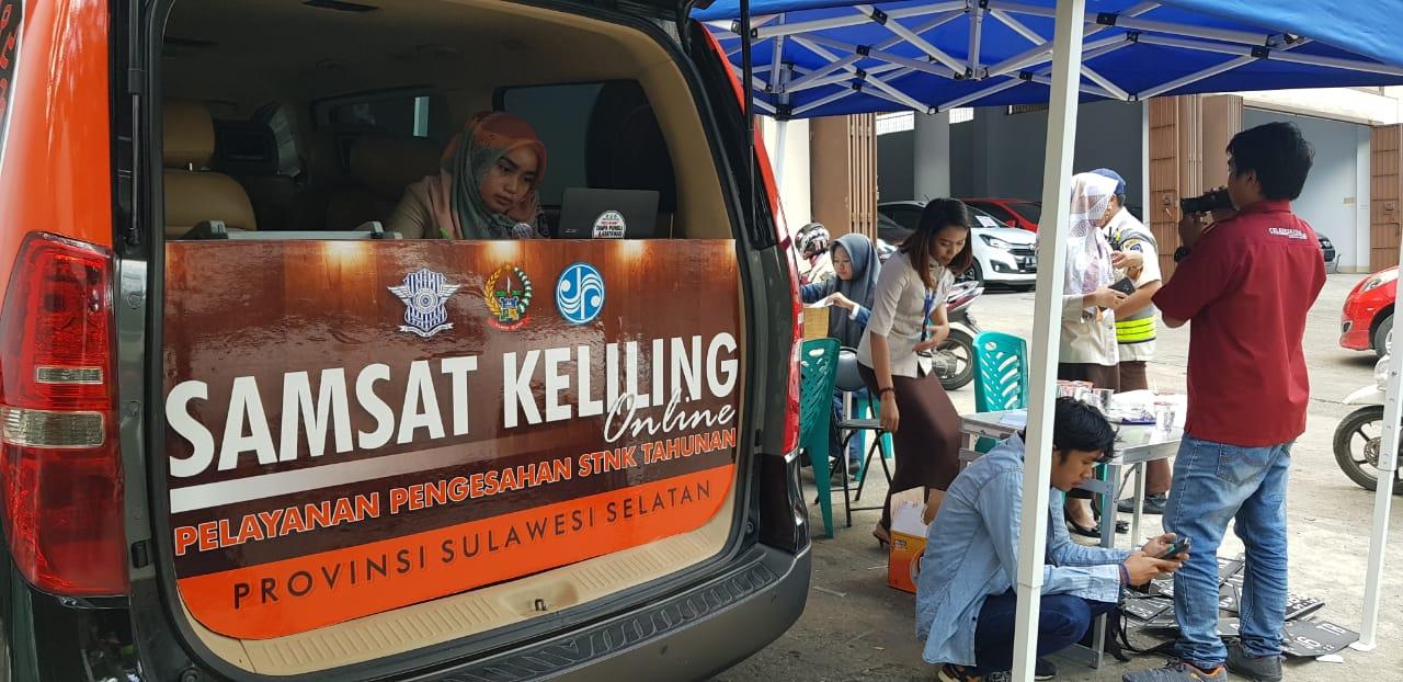 Samsat Makassar Jaring 105 Kendaraan Tak Bayar Pajak