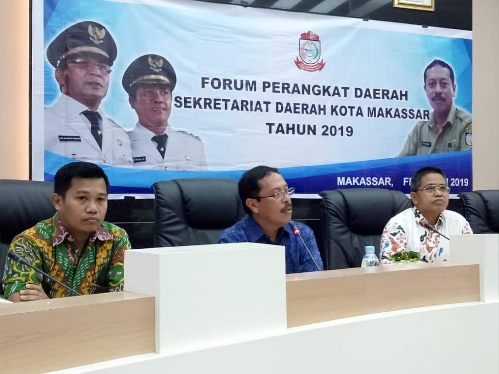 Sekda Kota Makassar buka Forum Perangkat Daerah Lingkup Sekretariat Daerah Kota Makassar