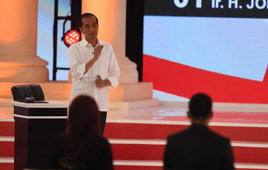 Soal Pembagian Lahan, Jokowi Sindir Prabowo