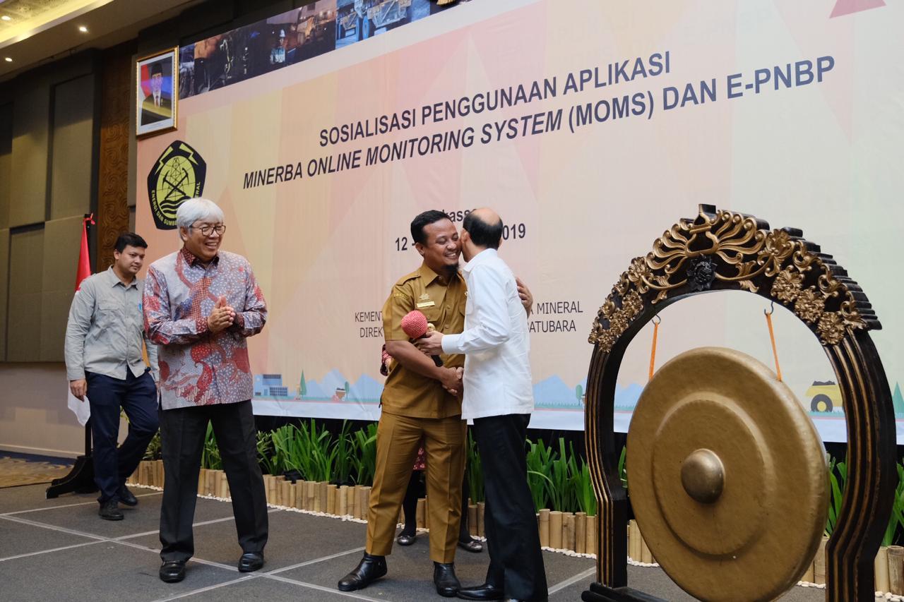 Wamen Sosialisasi Sistem Aplikasi MOMS di Makassar