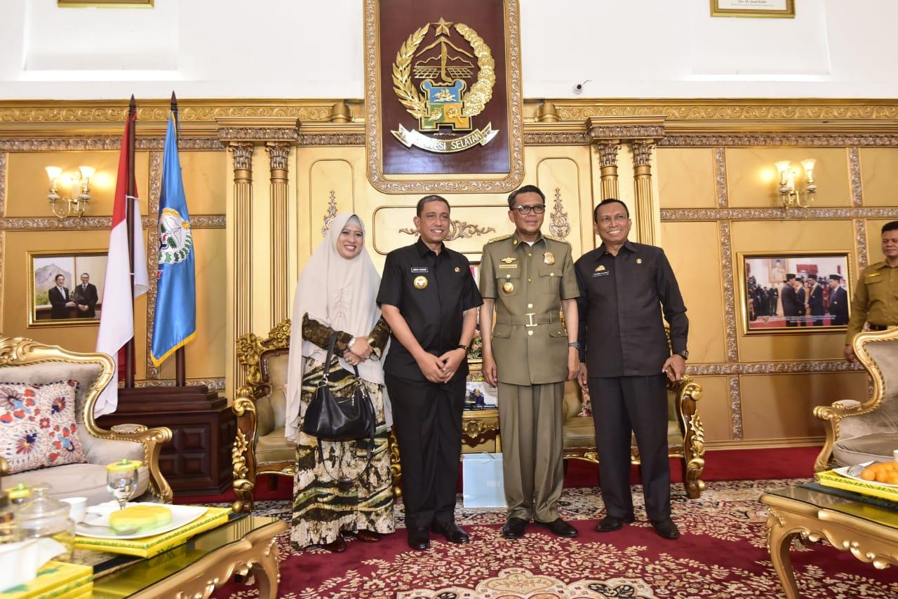 Amran Mahmud Undang Gubernur Hadiri HUT Ke-620 Wajo sekaligus Bahas Paselloreng