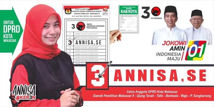 Atas Panggilan Nurani, Ratusan Relawan Annisa Siap Hadiri Kampanye JokowiAmin