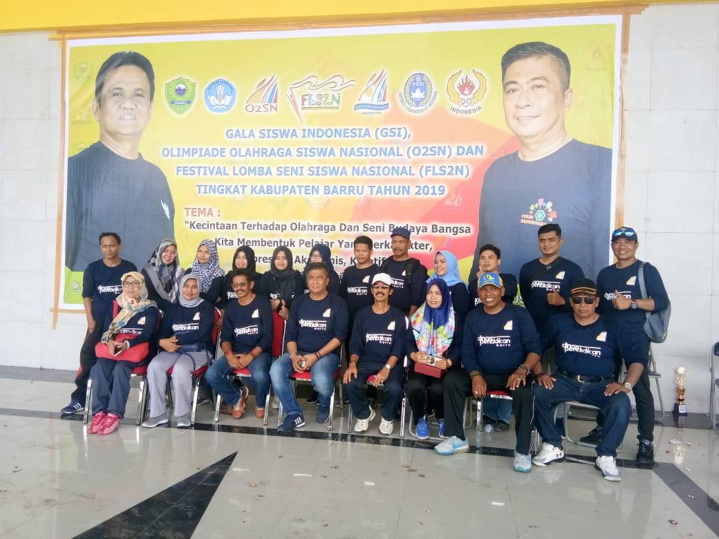 Buka Kegiatan O2SN, FLS2N Dan Gala Siswa Indonesia, Ini Pesan Bupati Barru