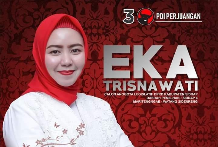 Eka Trisnawati Ajak Pemilih Milenial Bersama Majukan Wajo