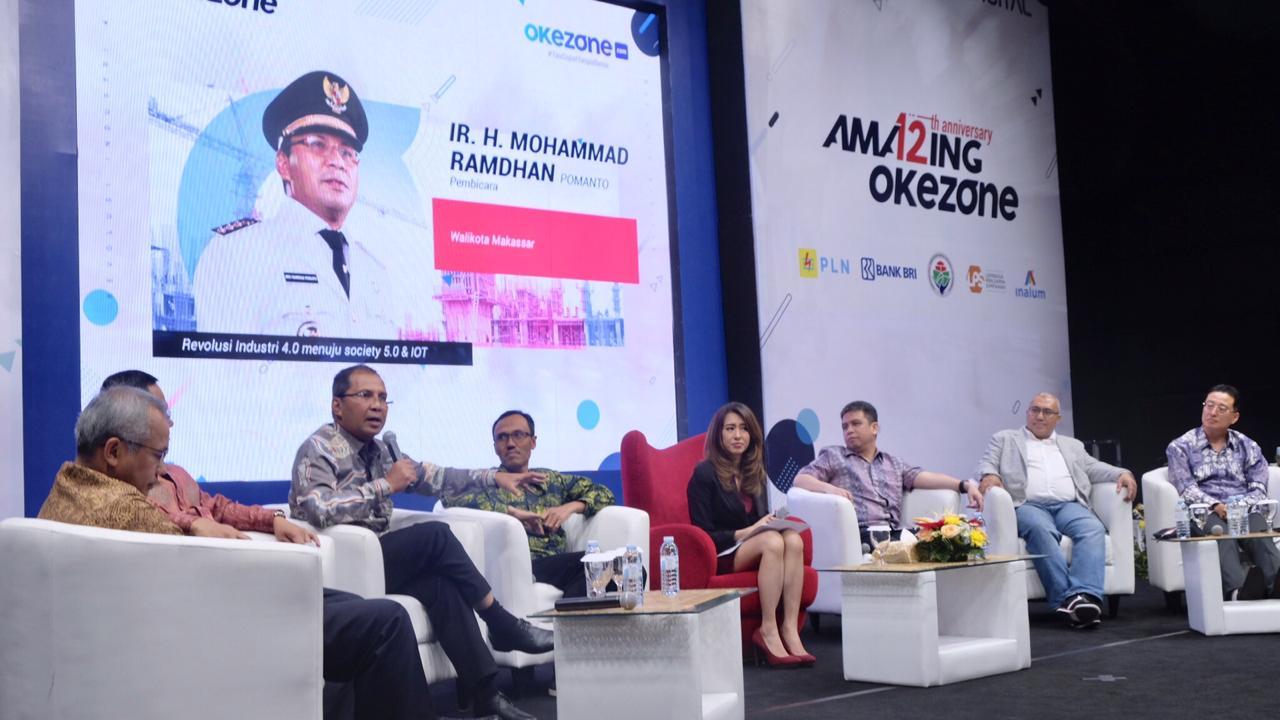 Hary Tanoesoedibjo Hadirkan Wali Kota Makassar Bincang Revolusi Industry 4.0