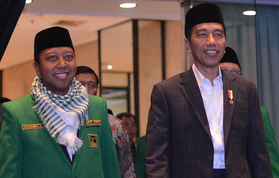 Jokowi: OTT Rommy Tidak Pengaruhi Elektabilitas