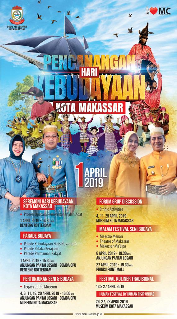 Lusa, Ditetapkan Momerandum Hari Kebudayaan Kota Makassar