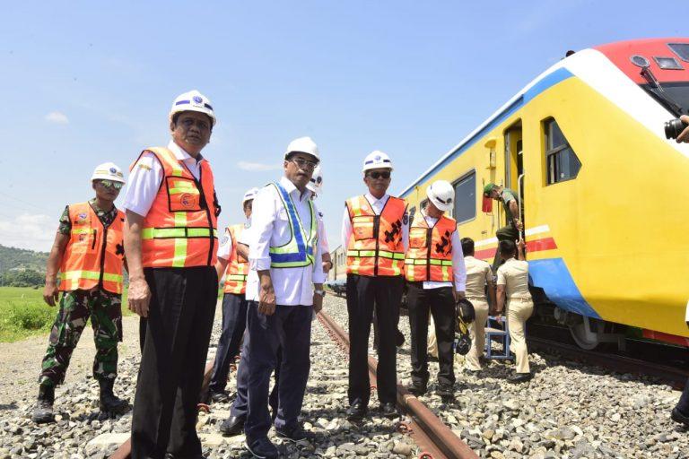 Menhub – Pemprov Sulsel Sepakat Beri Bantuan Ponpes sekitar Jalur Kereta Api