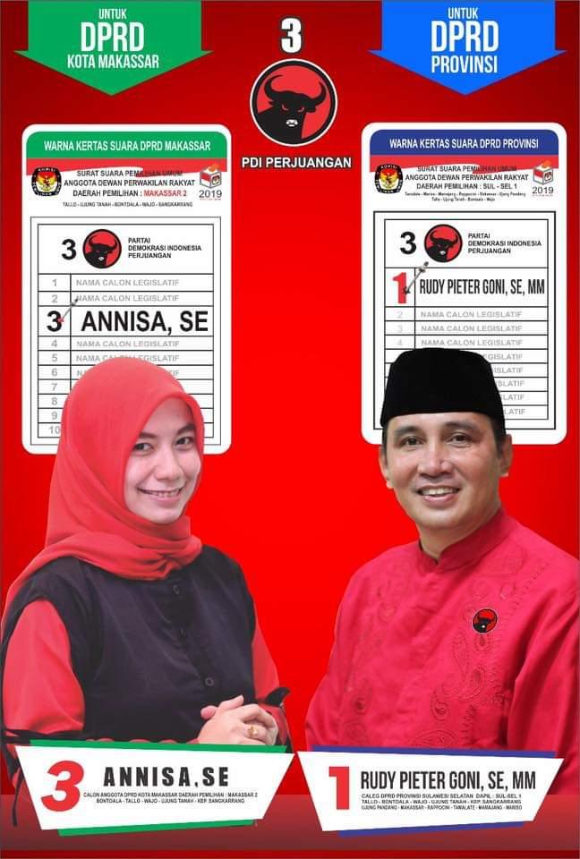 Paket Rudy Pieter Goni, Relawan Annisaker3n Optimis Annisa Terpilih jadi Anggota Dewan Makassar