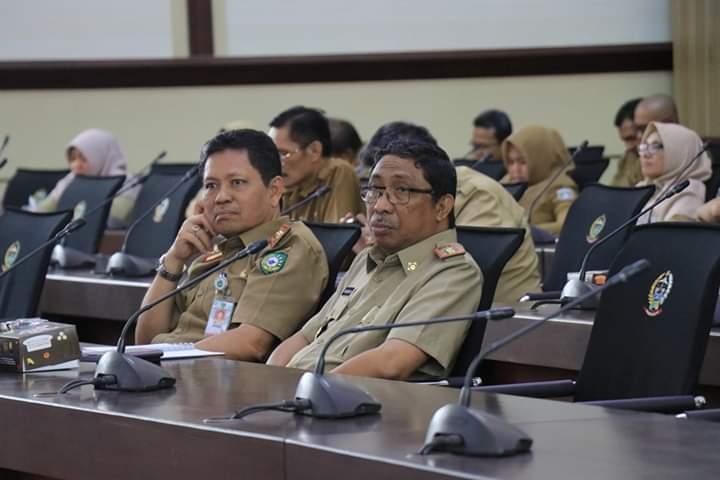 Sekda Barru Menghadiri Rapat Penyusunan Rencana Aksi Program Pemberantasan Korupsi Terintegrasi