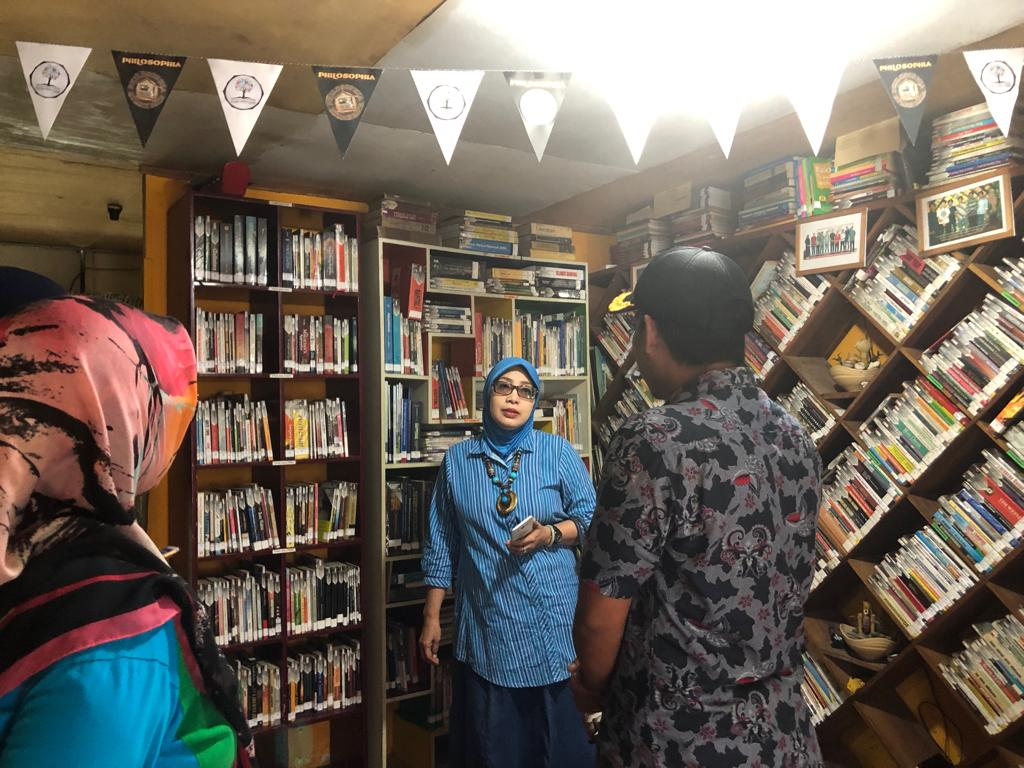 Tim Penilai SSL 2019 Apresiasi Rumah Baca Di Borong