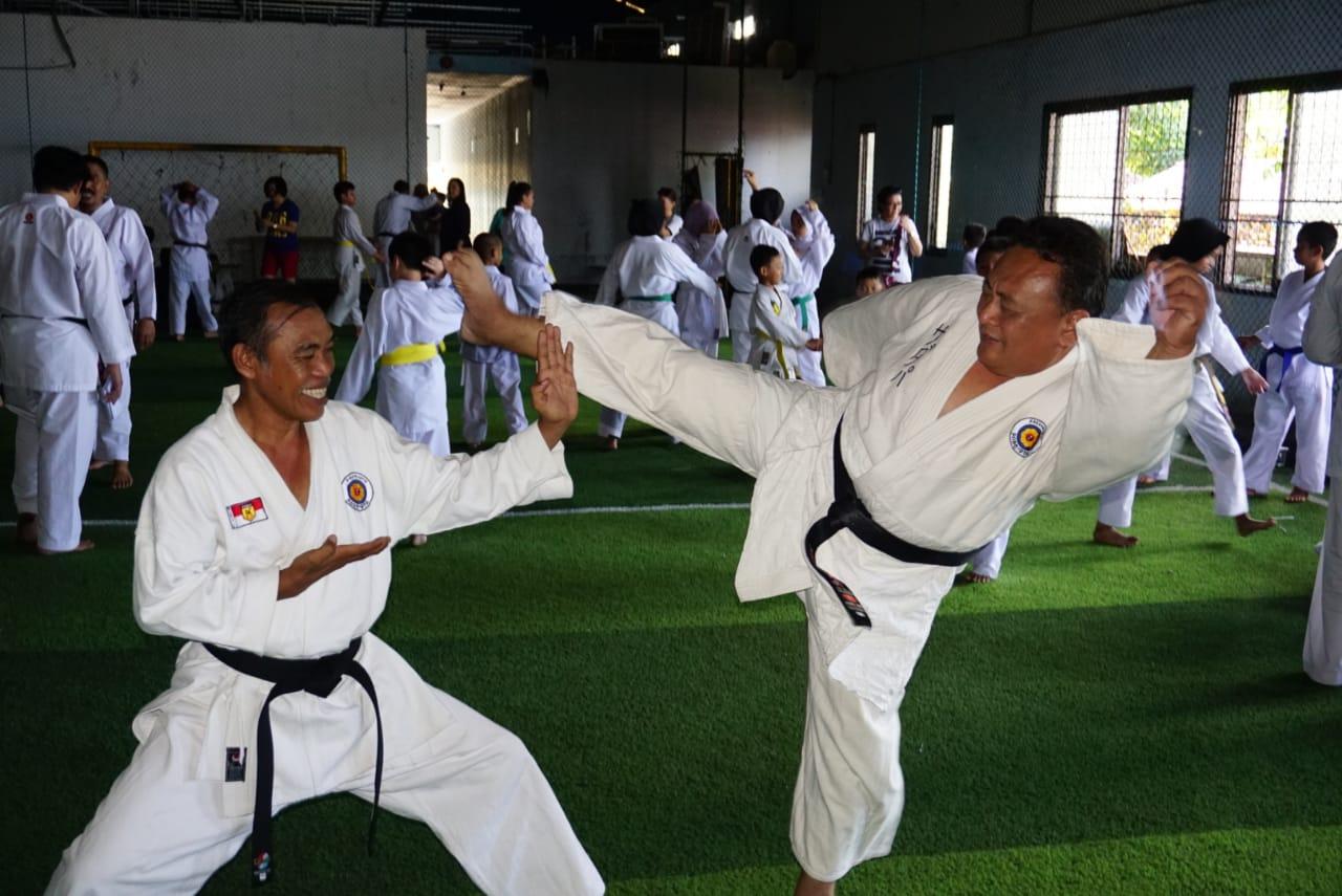 Tinggi Peminat Olahraga Inkatzu Prodinya, Ratusan Karateka Ujian Sabuk