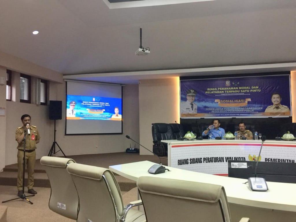 Top Inovasi Pelayanan Pemkot, Giliran Kejaksaan Bergabung di PTSP Makassar