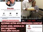 Viral Foto Komisioner KPU Ternyata Adik Anggota BPN Prabowo-Sandi