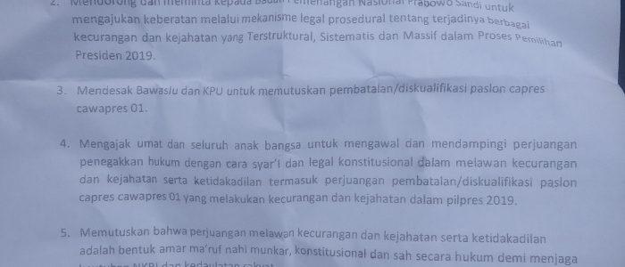 Diduga Curangi Prabowo-Sandi, Aziz Qahar Muzakkar Minta Rekapitulasi KPU Dihentikan
