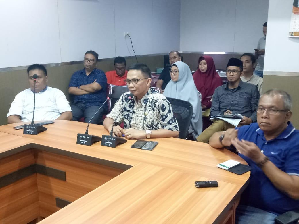 DPU Kota Makassar Rapat Bersama Komisi C DPRD kota Makassar