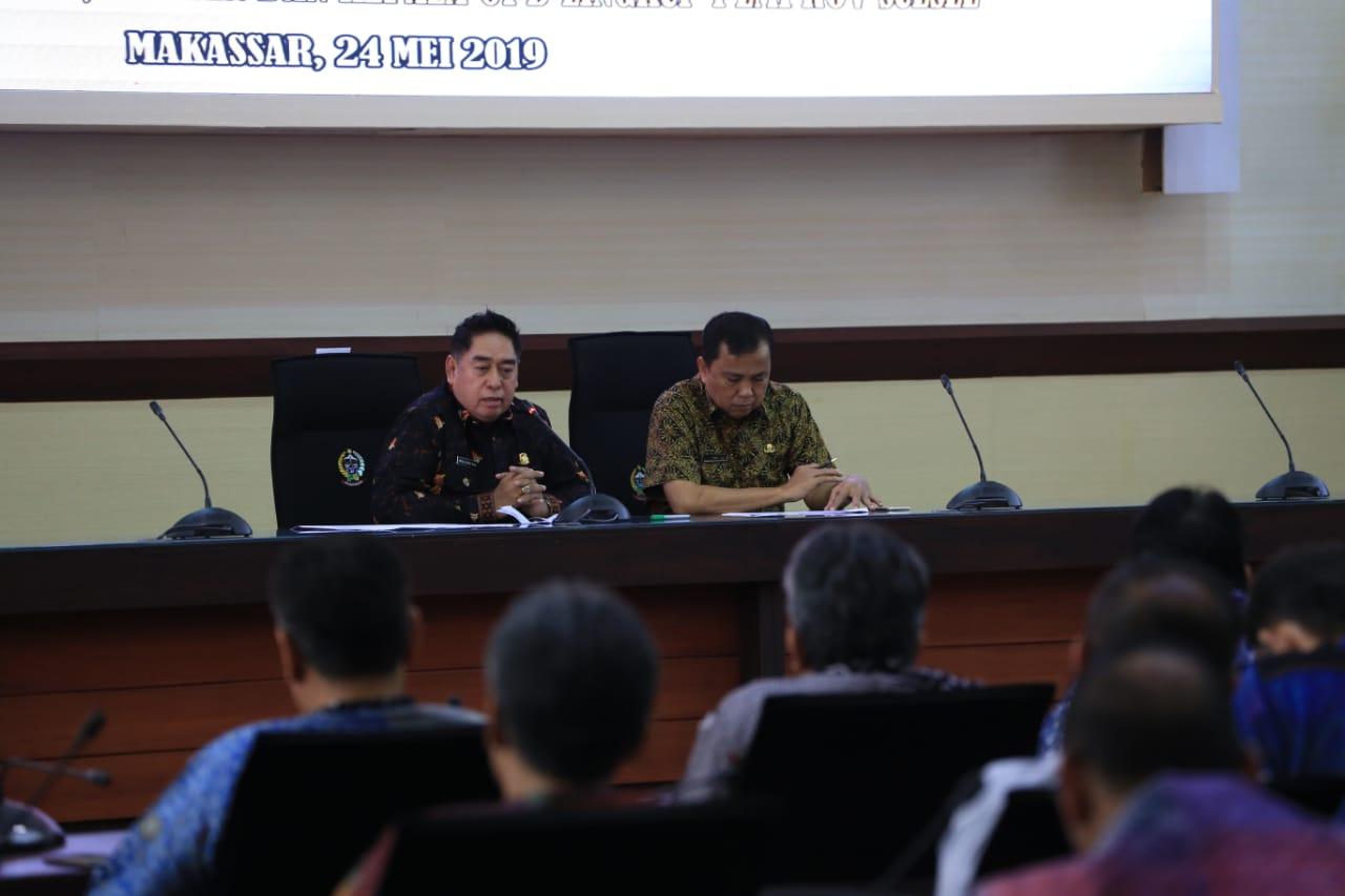 Gelar Rapat Perdana, Sekda Abdul Hayat Imbau Setiap OPD Maksimalkan Kinerja