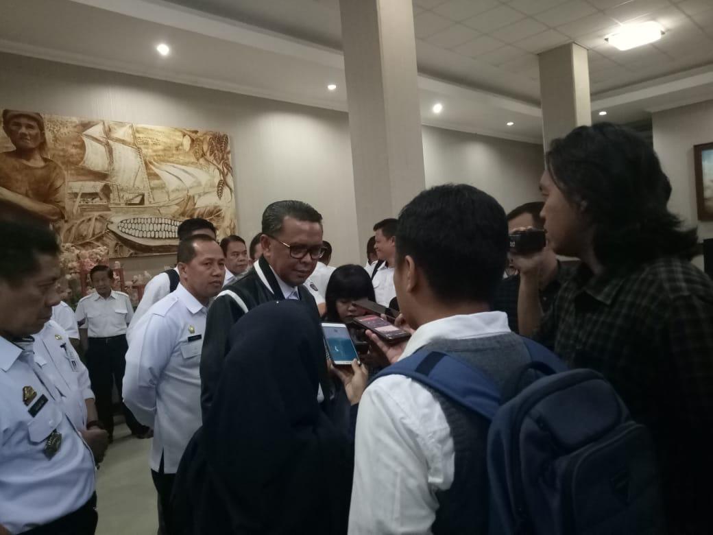 Gubernur Briefing Pejabat Eselon Pemprov Jelang Lebaran