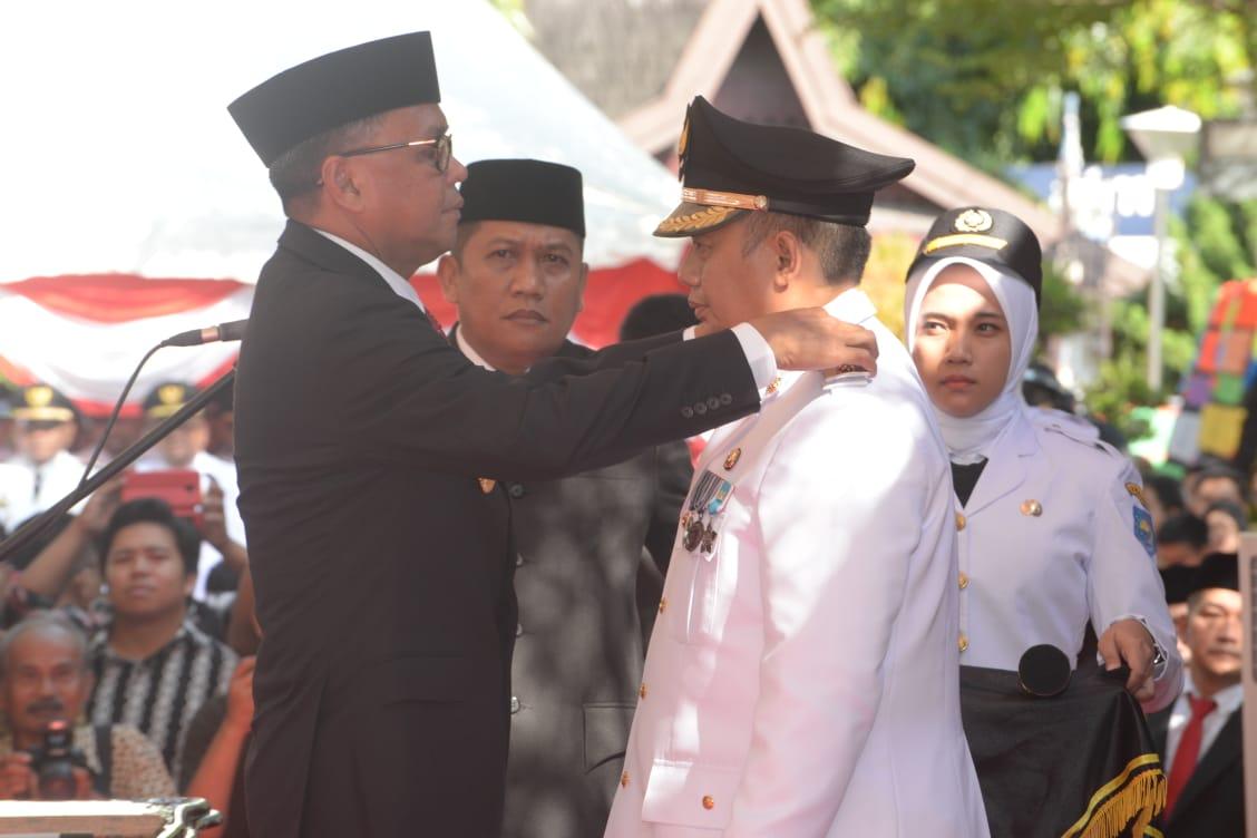 Gubernur Sulsel Lantik Iqbal Suhaeb Jadi Pj Walikota Makassar