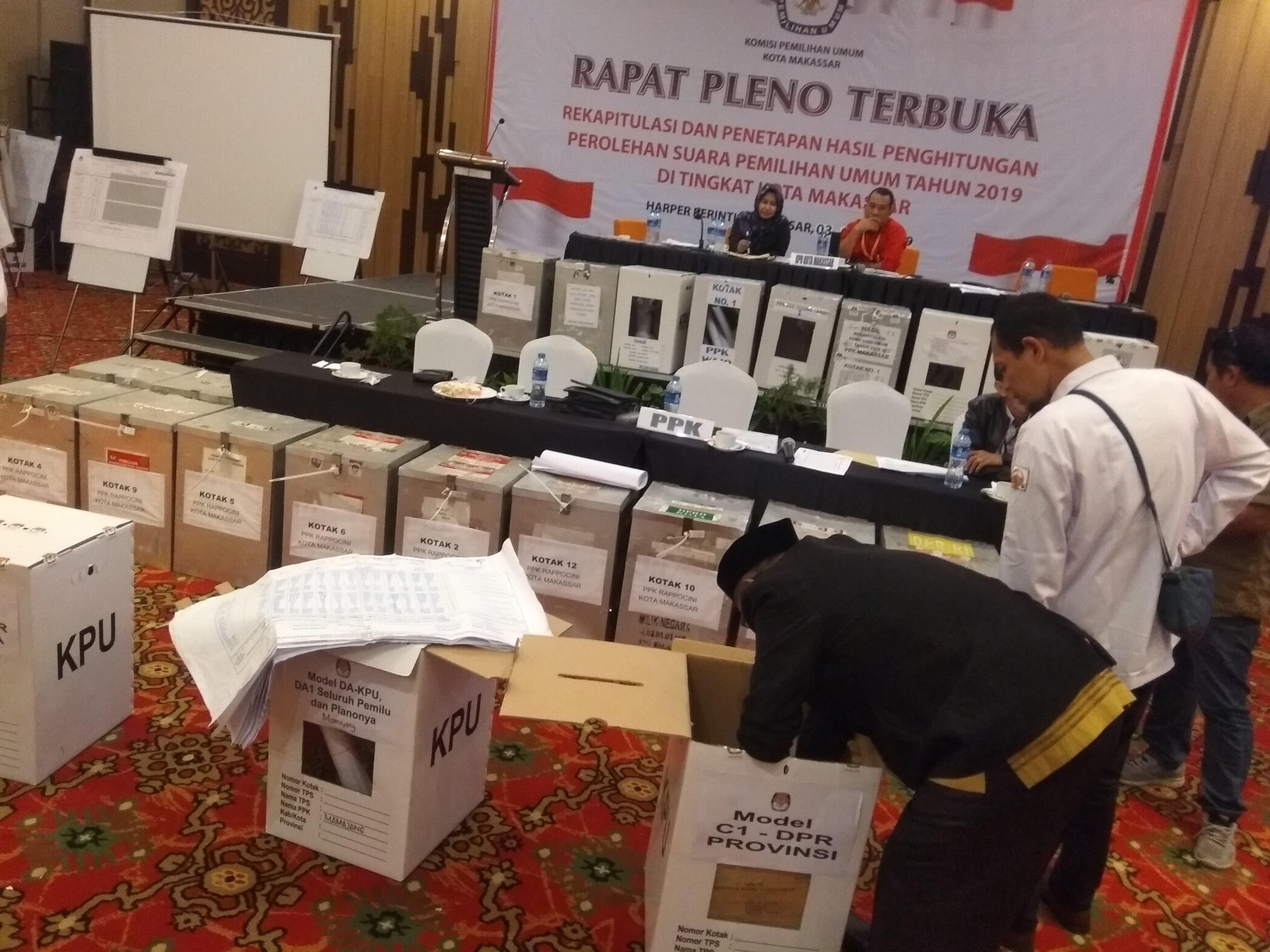 Ini Jumlah Perolehan Suara Caleg dari Seluruh Partai Politik di Kecamatan Mamajang