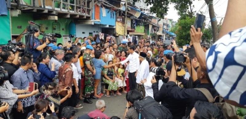 Ini Pidato Lengkap atas Kemenangan Joko Widodo-Ma'ruf Amin