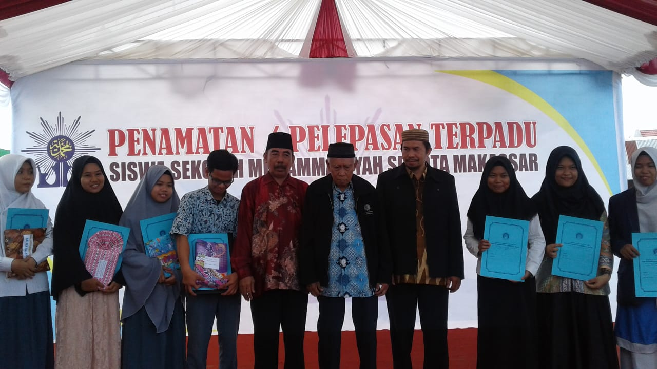 Majelis Dikdasmen Gelar Penamatan Terpadu Siswa Sekolah Muhammadiyah se Kota Makassar