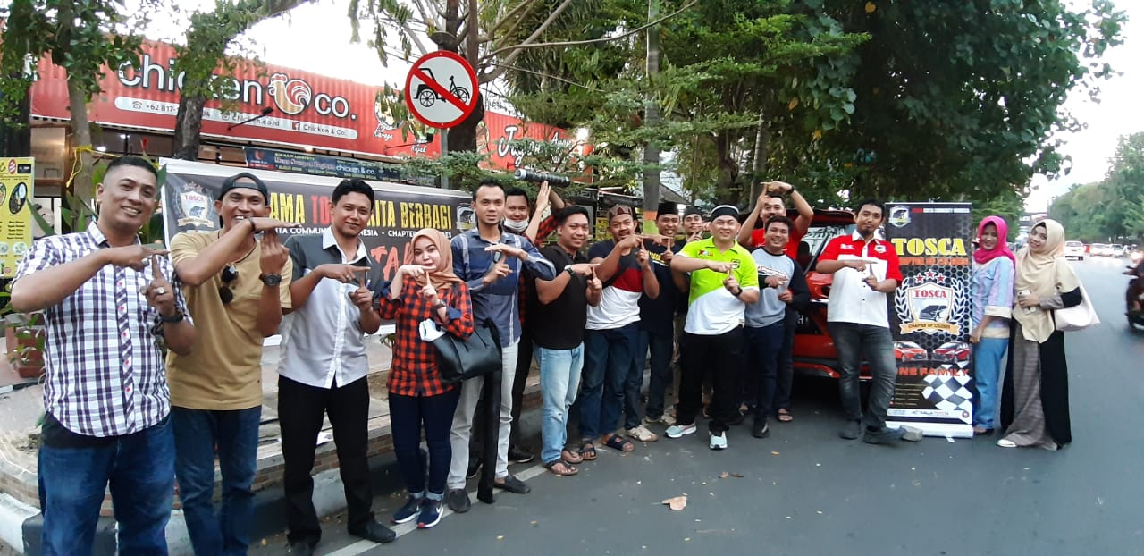 Manfaat Bulan Ramadhan, TOSCA Chapter of Celebes Makassar Fokus Berbagi Rezeki
