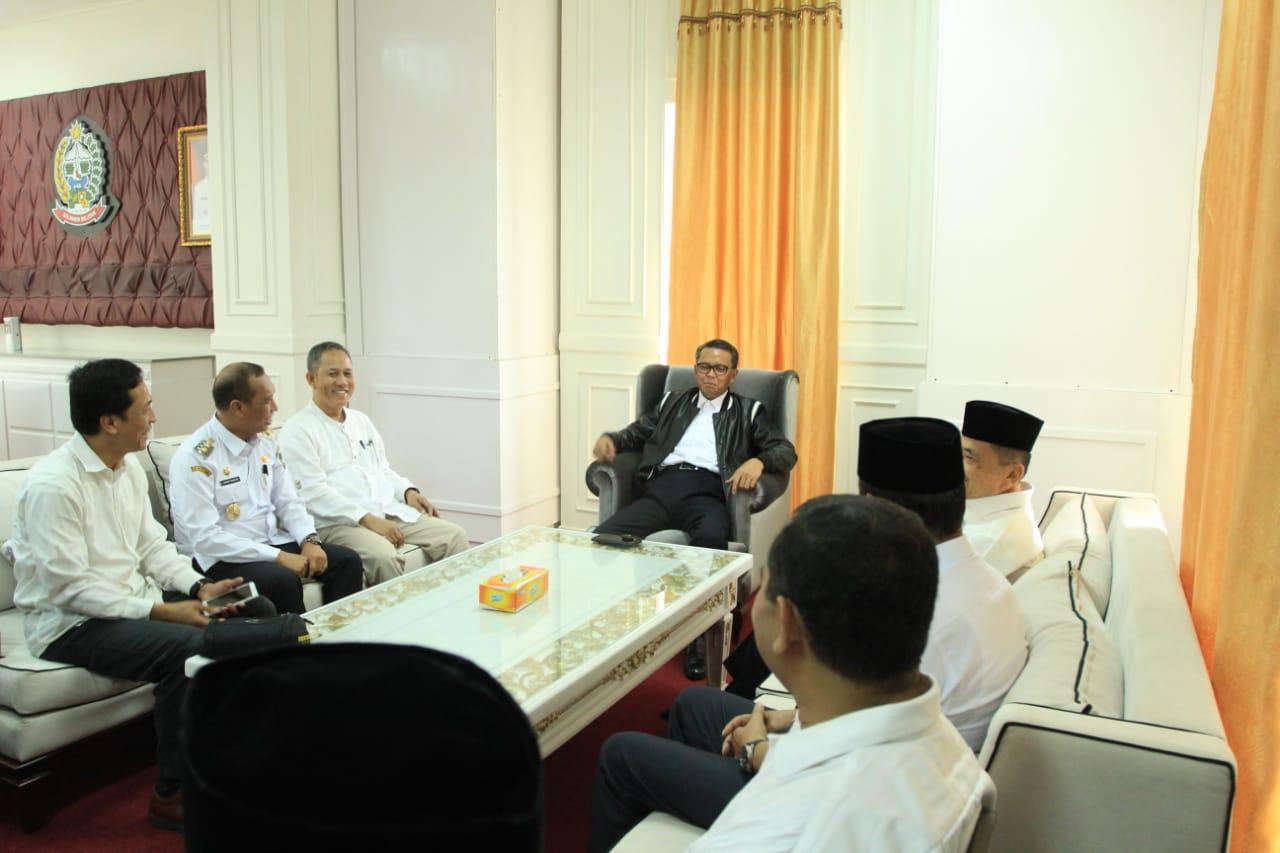 NA Terima Dua Kepala Daerah Luwu Raya di Kantor Perwakilan Gubernur Palopo