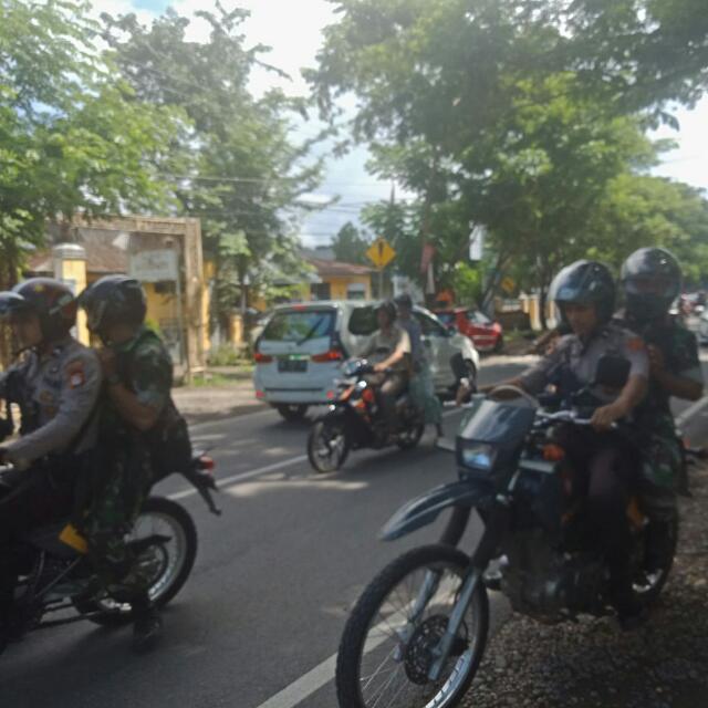 Personil Kodim 1411 Bulukumba Aktif Patroli Bersama Anggota Polres