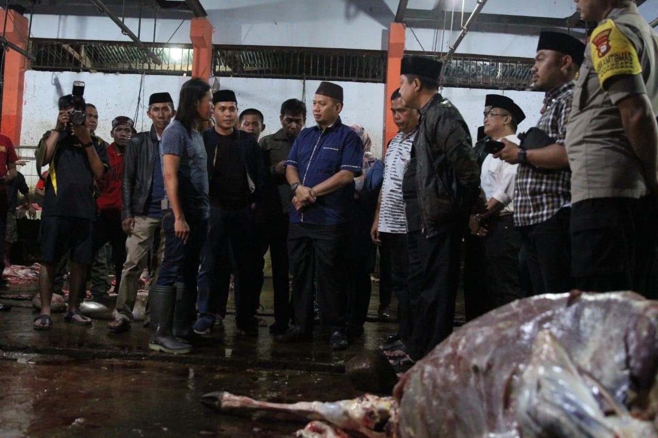 PJ Wali Kota Iqbal Tinjau RPH Tamangapa