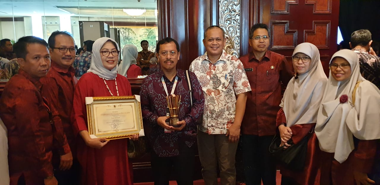 Plh Wali Kota Makassar Terima PPD 2019 Buah Kepemimpinan Danny Pomanto
