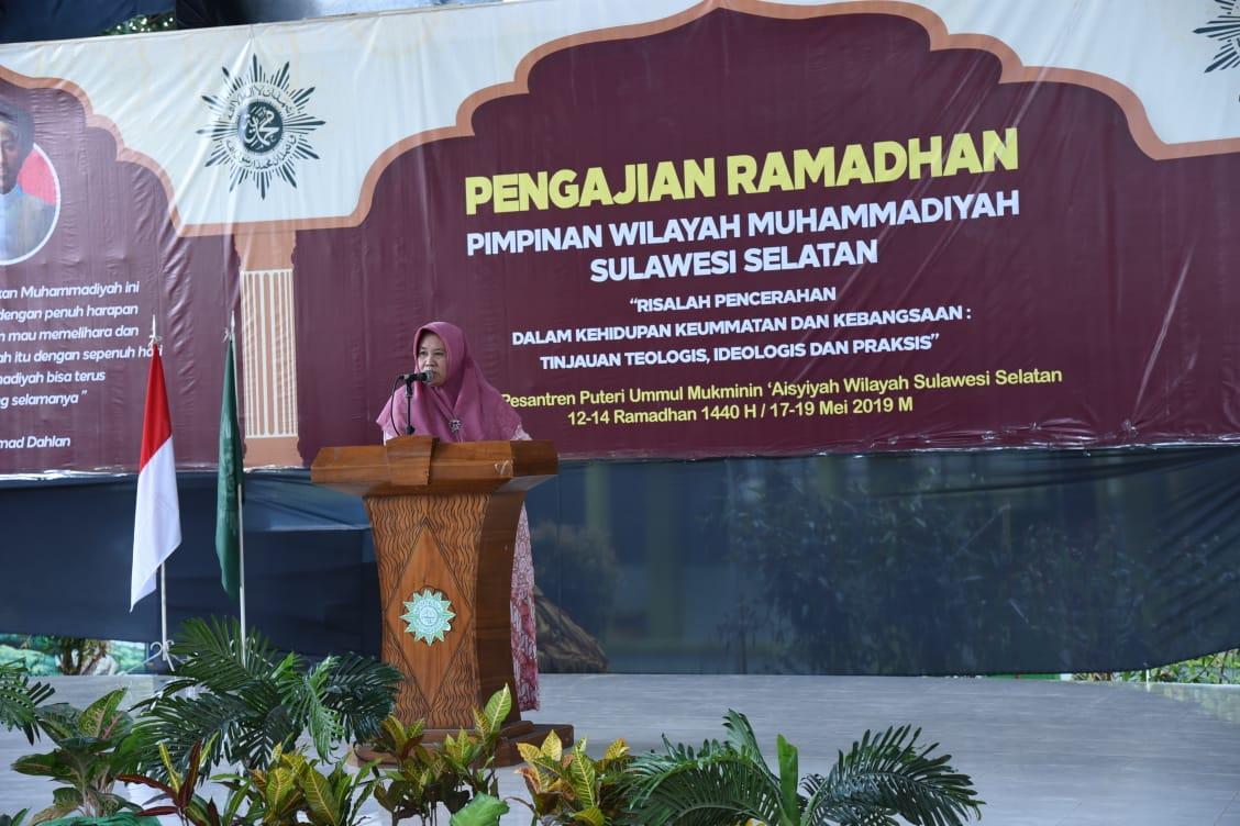 Ponpes Ummul Mukminin Aisyiyah-Muhammadiyah Sulsel Gelar Pengajian Ramadan