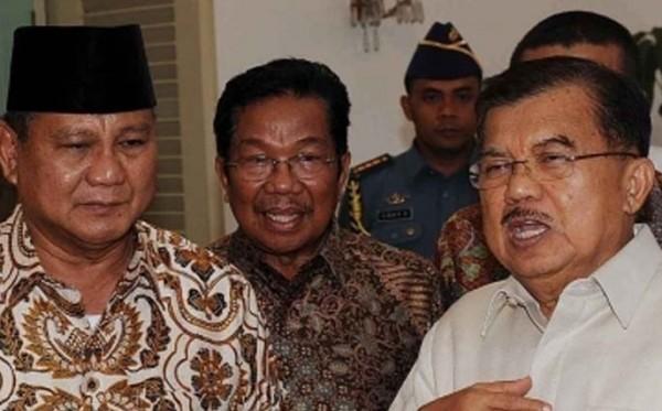 Prabowo Sudah Ketemu JK, Kapan Ketemu Jokowi?