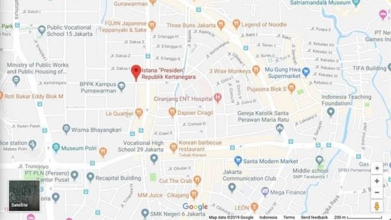 Rumah Prabowo Berubah Jadi Istana Presiden Kertanegara