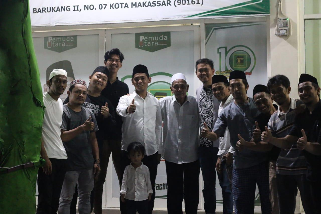 Sambangi Markas Rachmat Taqwa, Fadli Ananda Didukung Maju di Pilwali Makassar