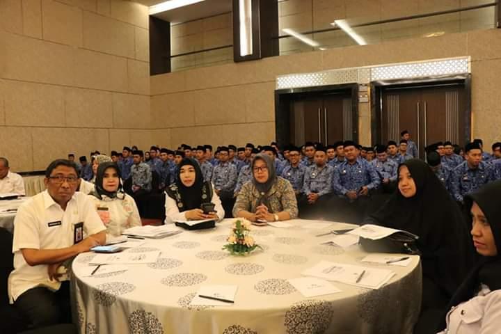 Sekda Barru Hadiri Rapat Koordinasi Kepegawaian Sulawesi Selatan Tahun 2019