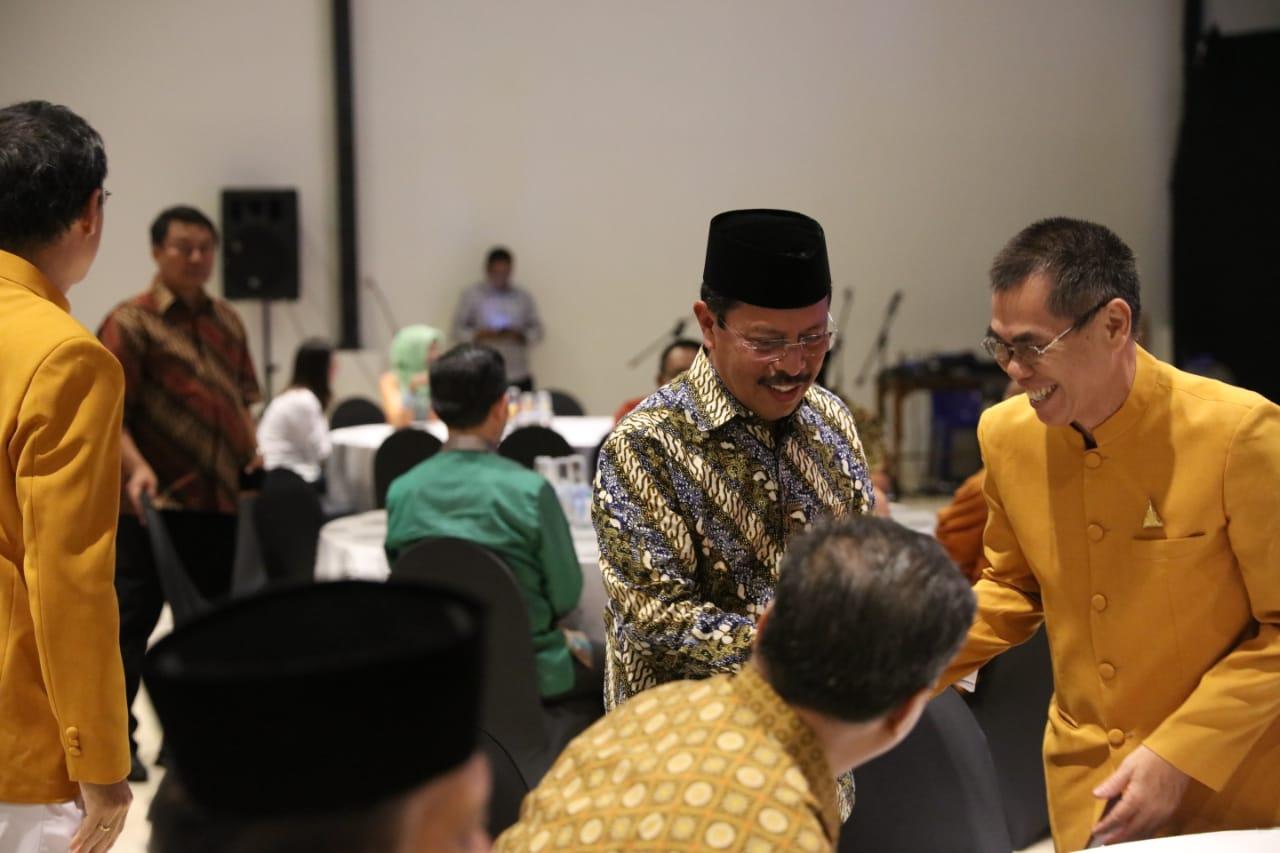 Sekda Kota Makassar Buka Puasa Bersama Permabudhi