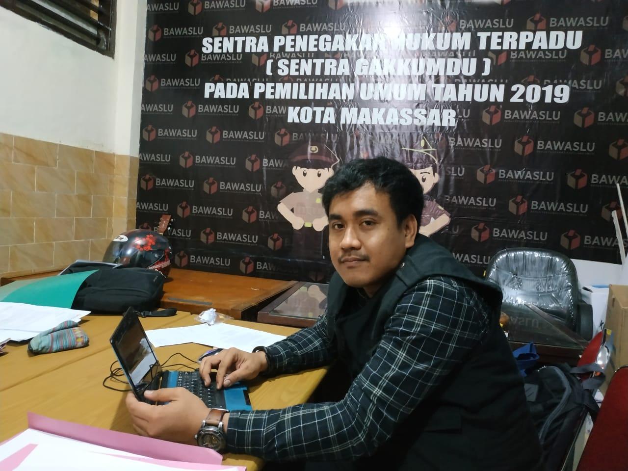 Senin Pekan Depan, Bawaslu kota Makassar Adili KPPS dan PPK